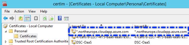 VSTS AzureDevTestLab WinRM Self Signed Certificate