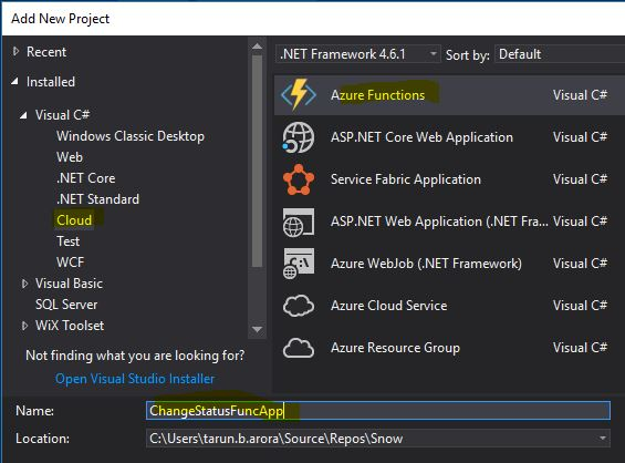 Azure Function Project