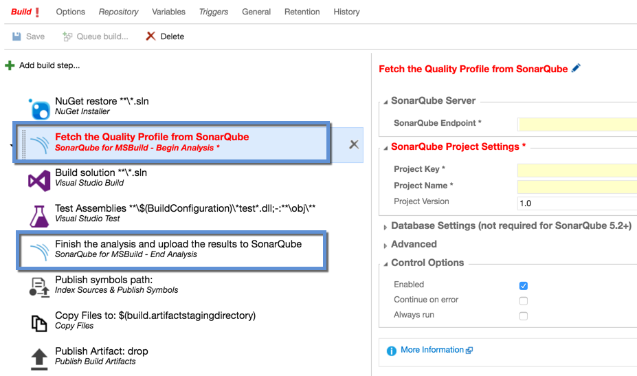 Visual Studio Geeks | SonarQube Analysis in Continuous
