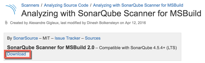 Visual Studio Geeks | How to install SonarQube as a windows Service