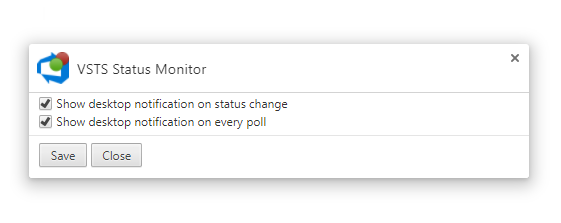 VSTSStatusMonitor-Options
