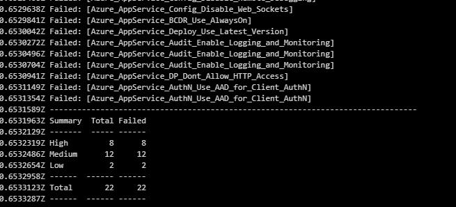 task output