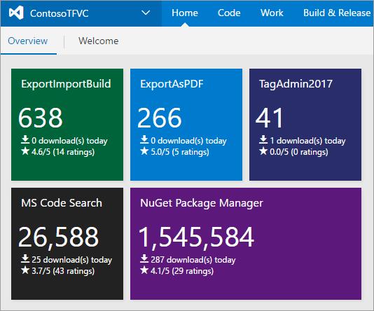 Visual Studio Geeks | Extension Download Monitor Widget - Monitor ...