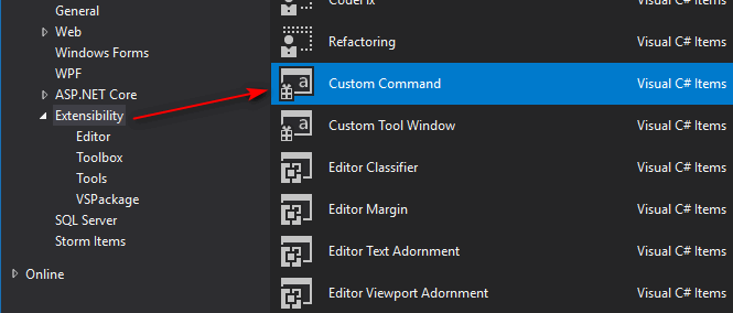 Custom Tool Command