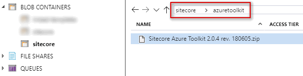 Folder Structure of azuretoolkit